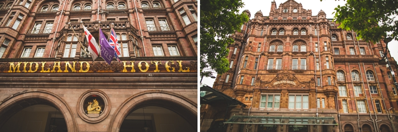 The Midland Hotel in Manchester