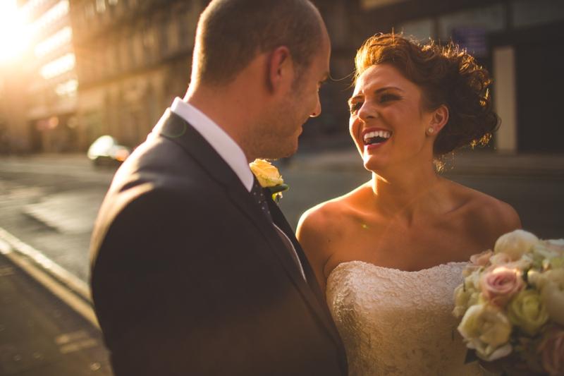 creative Manchester wedding photographer