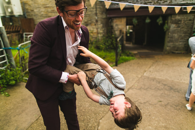 quirky weddings Whirlow Farm Wedding
