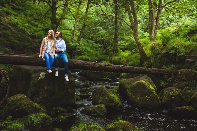 woodland wedding Woodland engagement