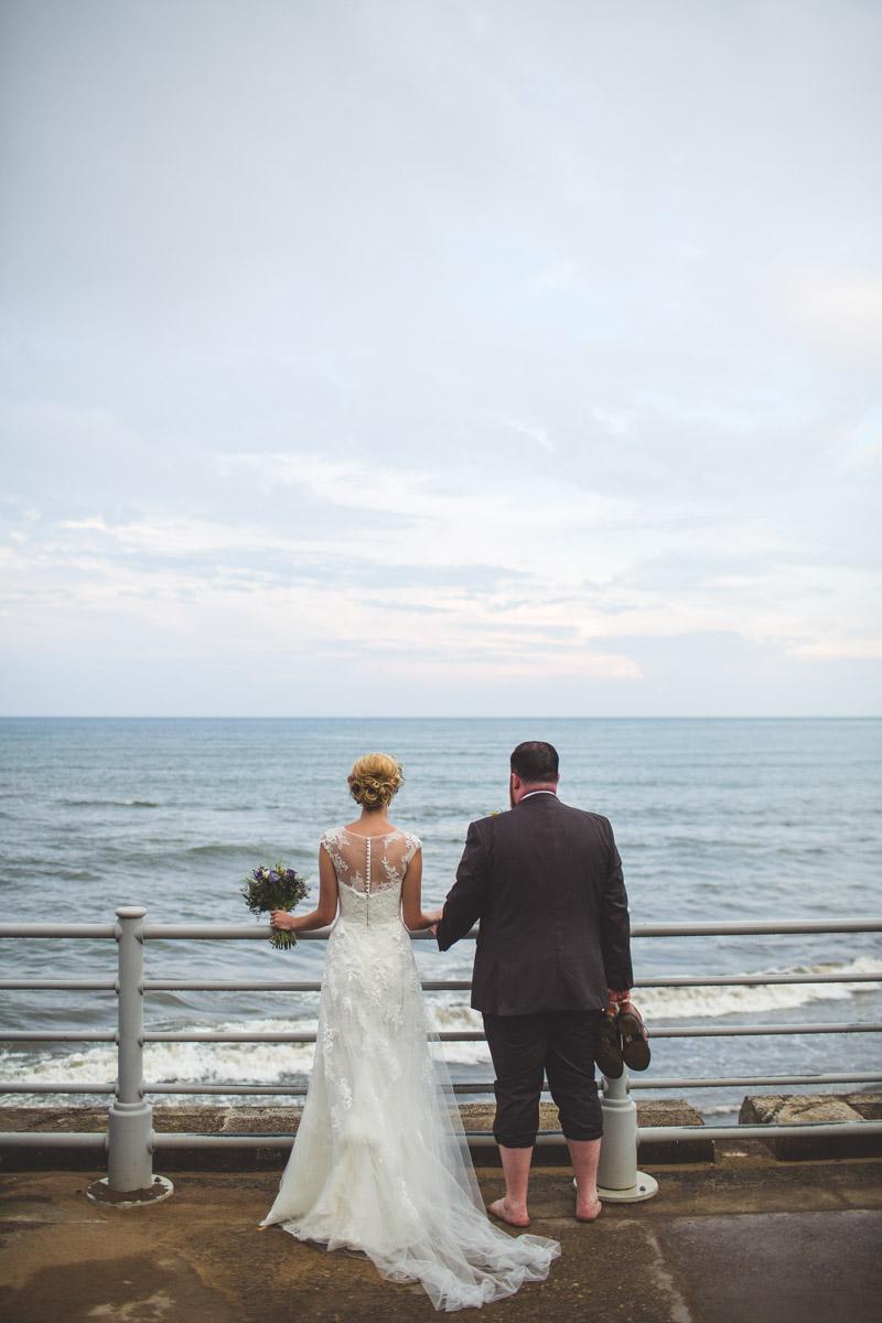 Robin Hoods Bay wedding photographer