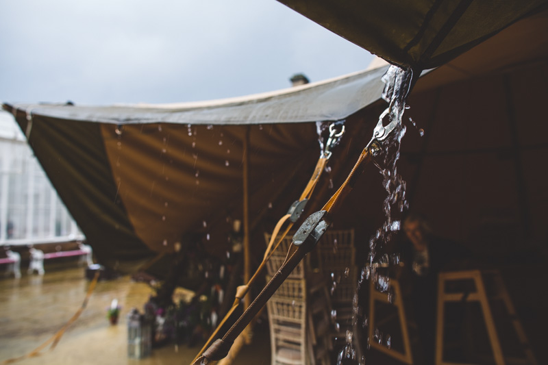 wet wedding