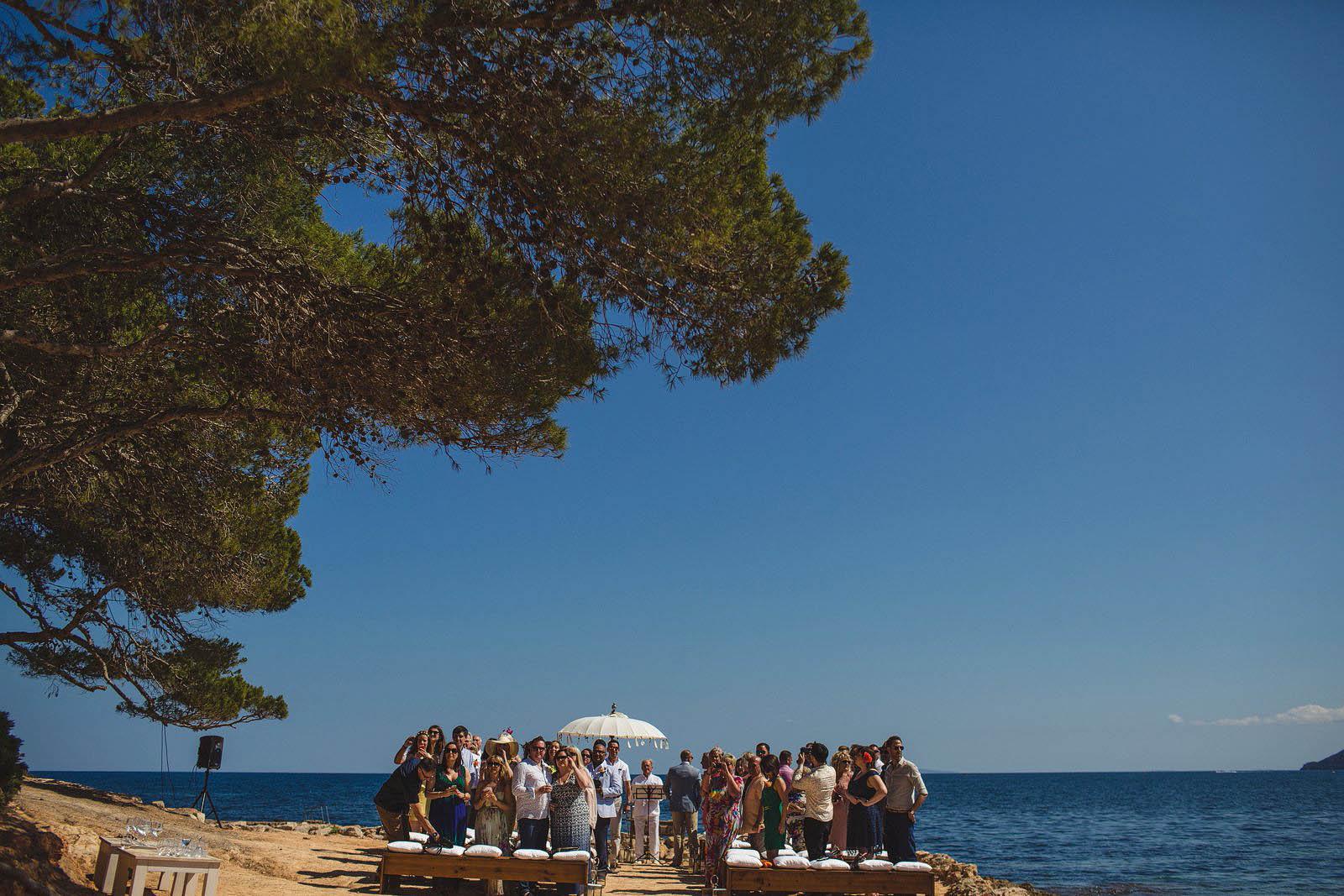 outdoor wedding venue Ibiza