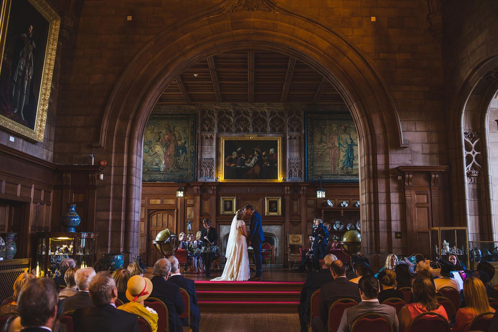 Bamburgh Castle wedding1