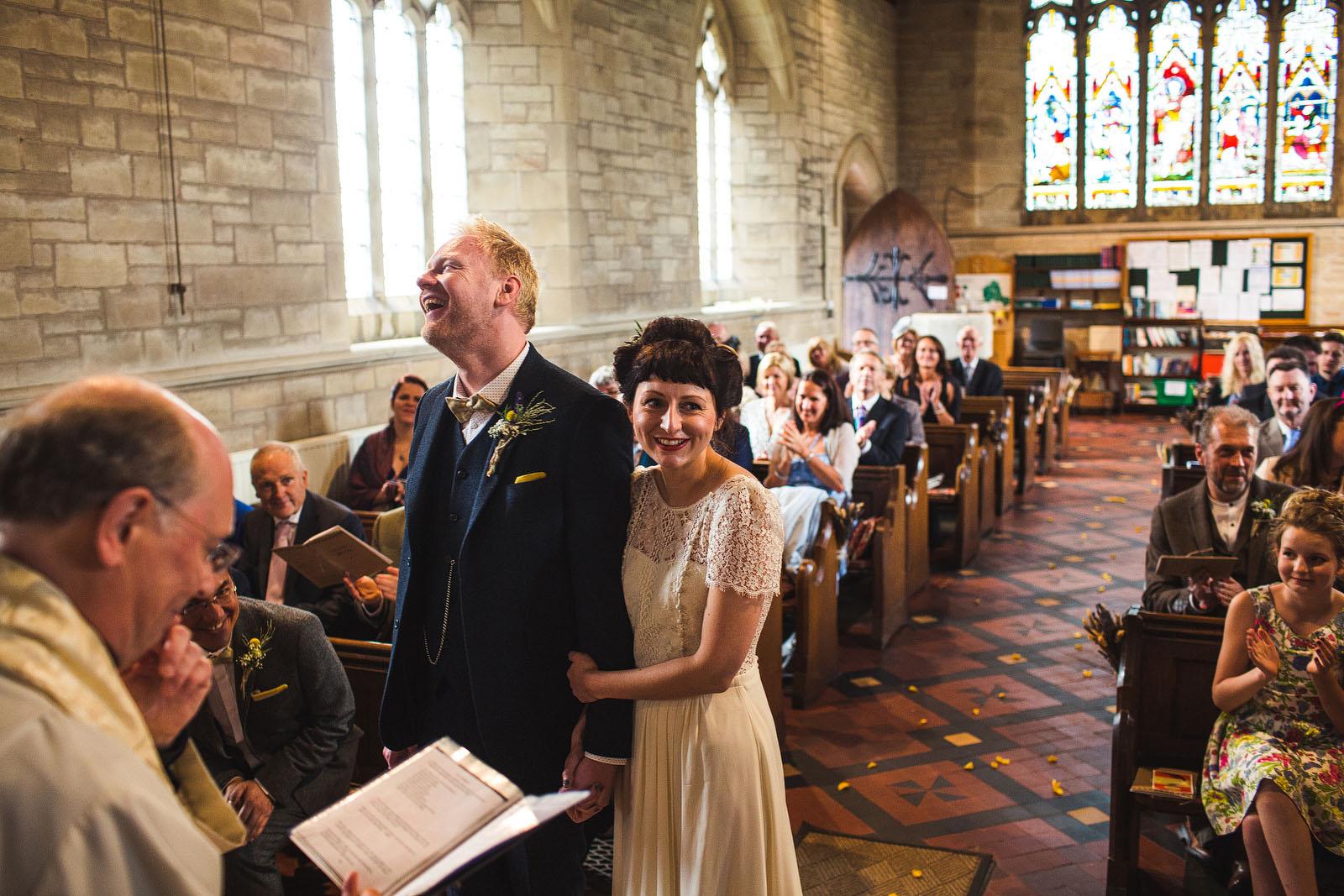 Bettisfield church wedding1