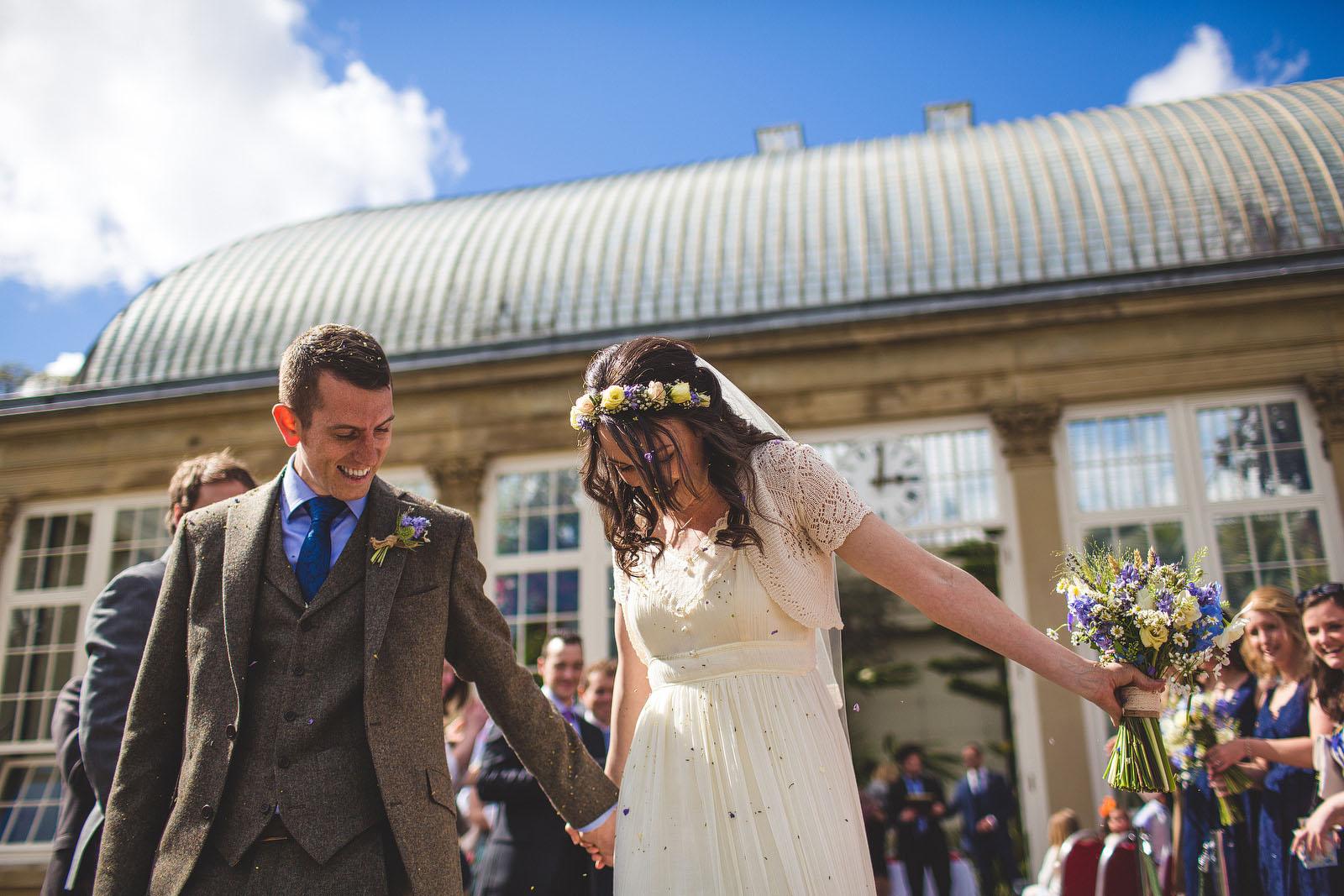 Botanical gardens wedding in Sheffield1