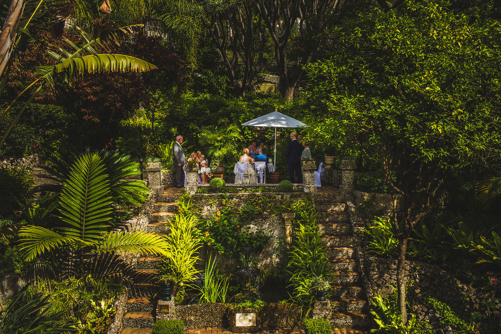 Botanical wedding Gibraltar1