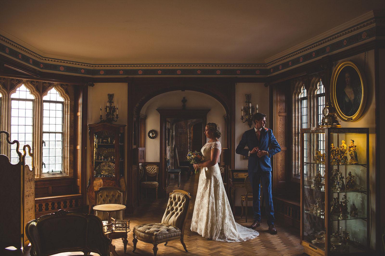 Castle wedding Northumberland1