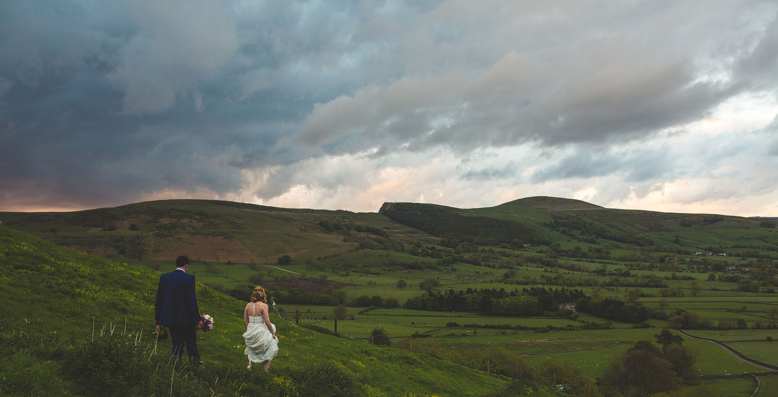Dramatic wedding photos1