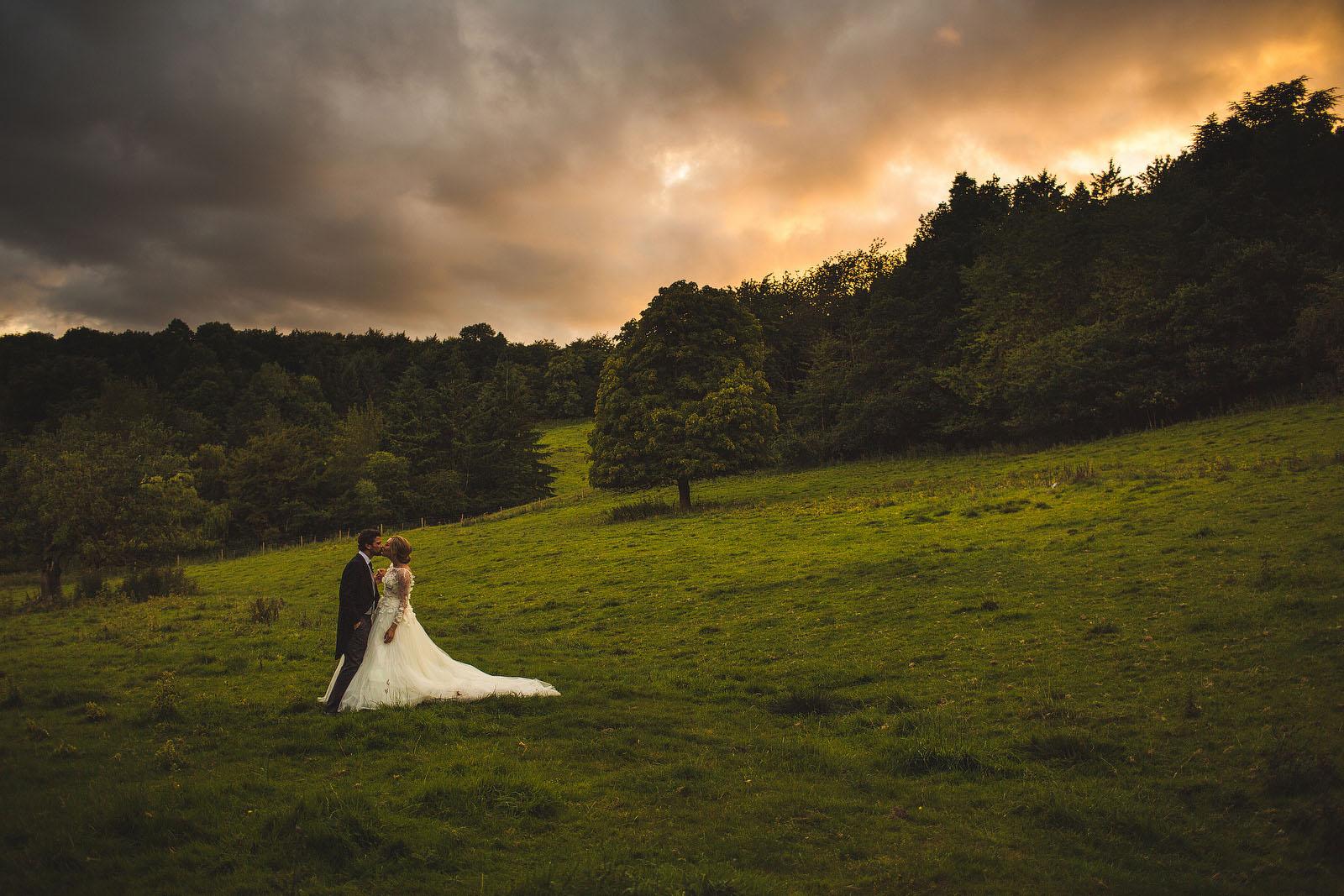 Hassop Hall wedding1