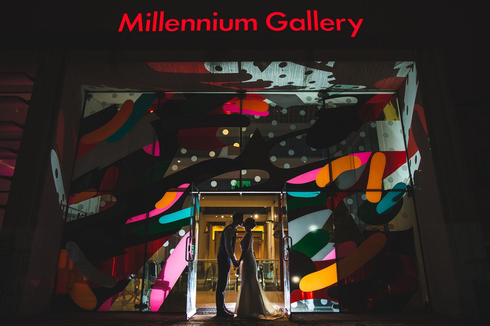 Millennium gallery wedding1
