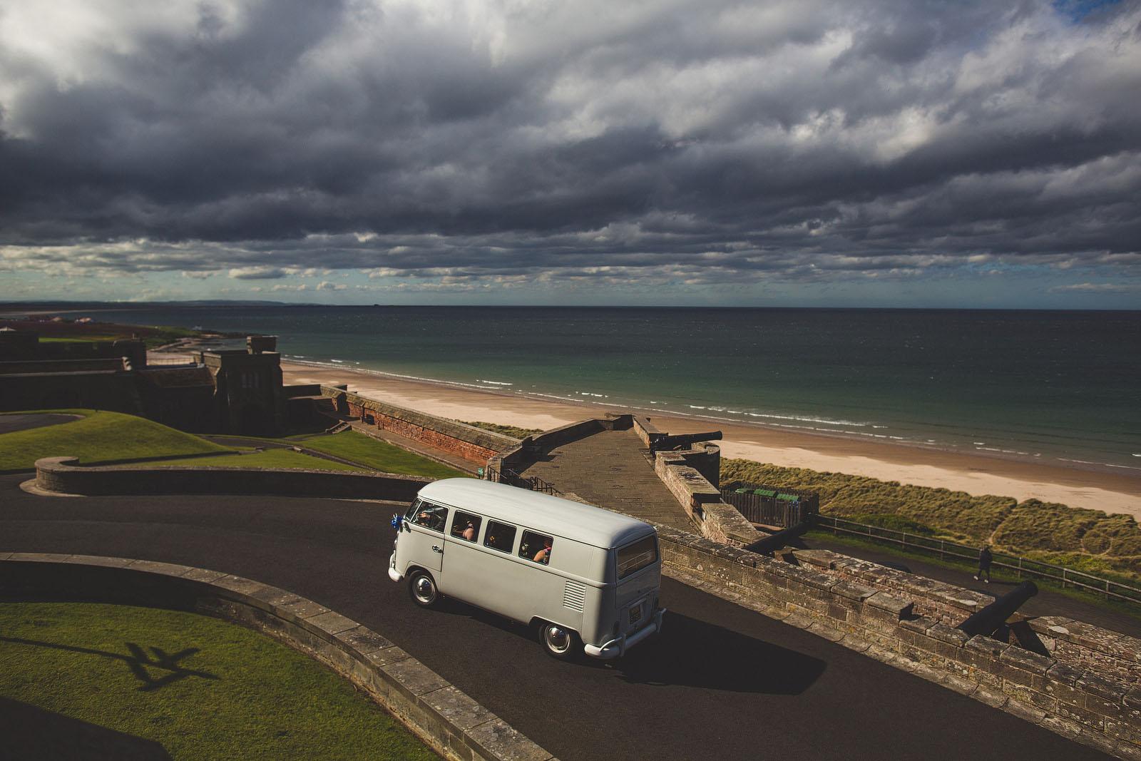 Northumberland wedding camper van1