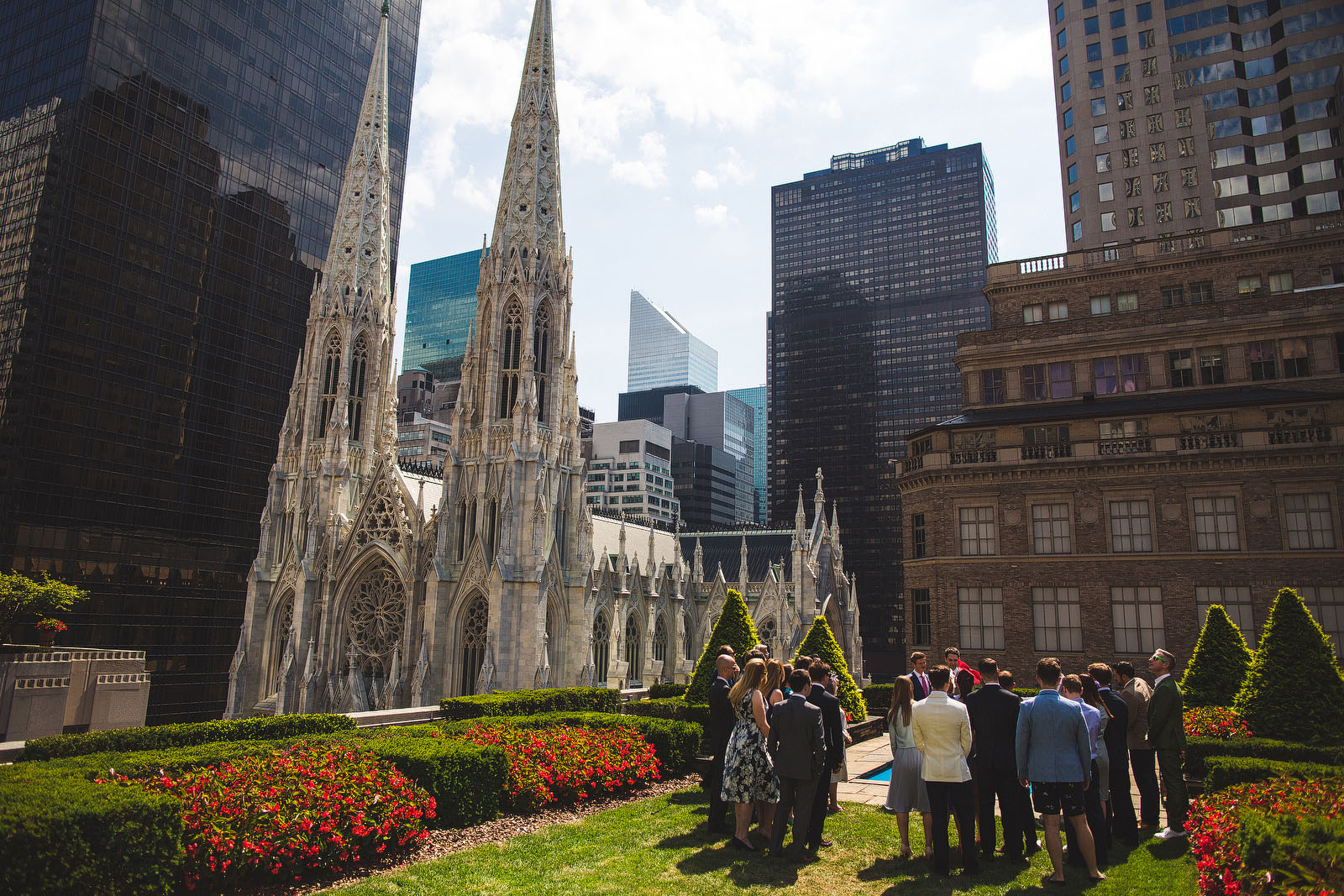 Rockefeller wedding1