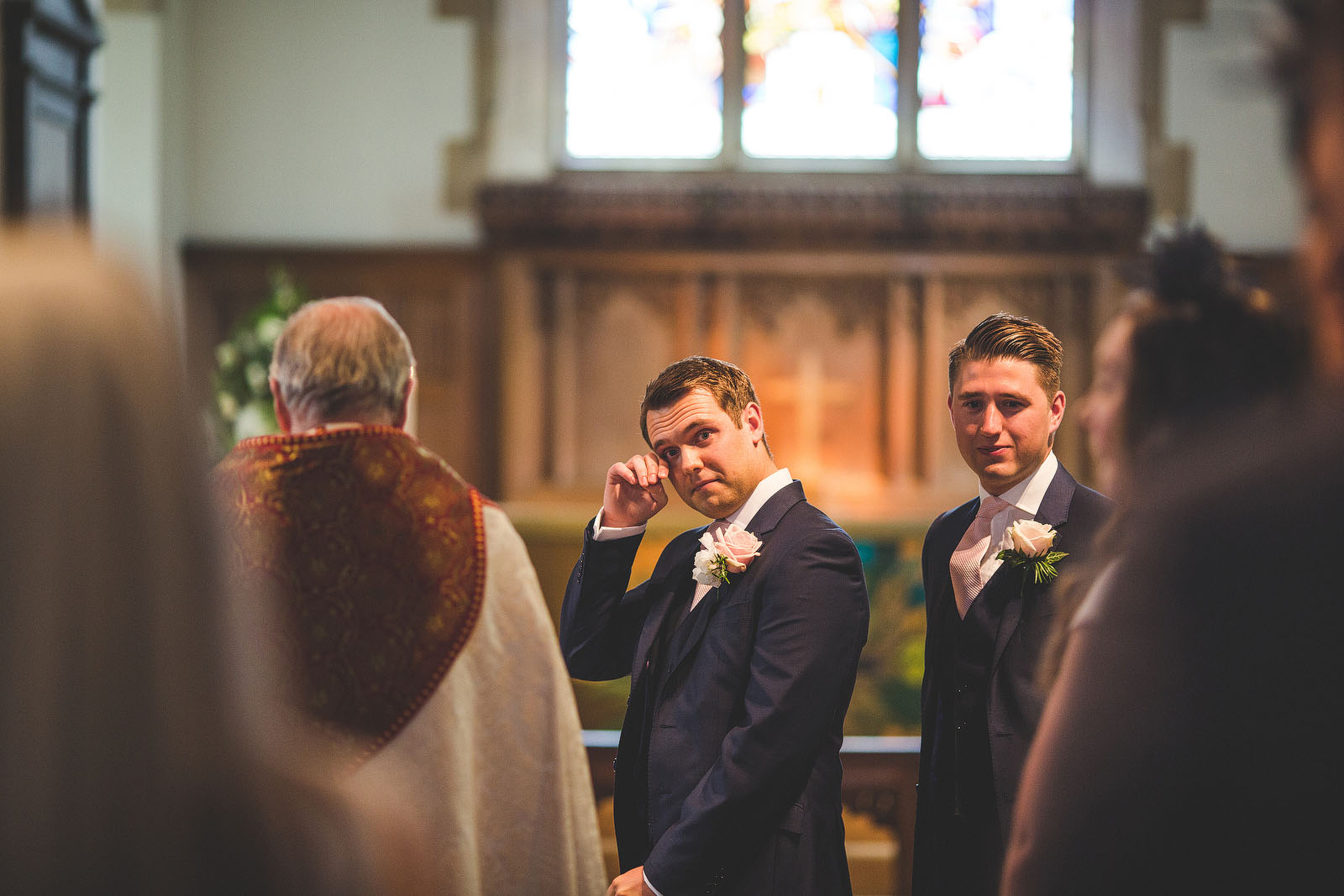 Surrey Church wedding1
