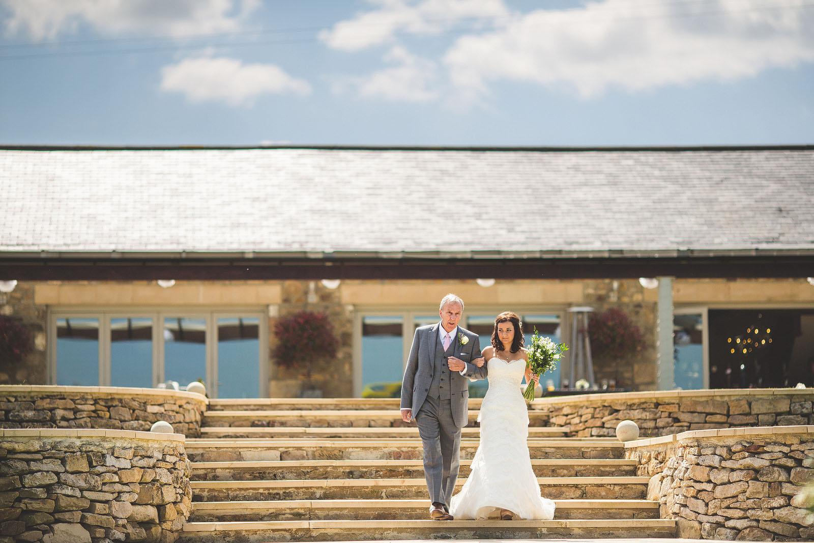 The barn Yorkshire wedding1