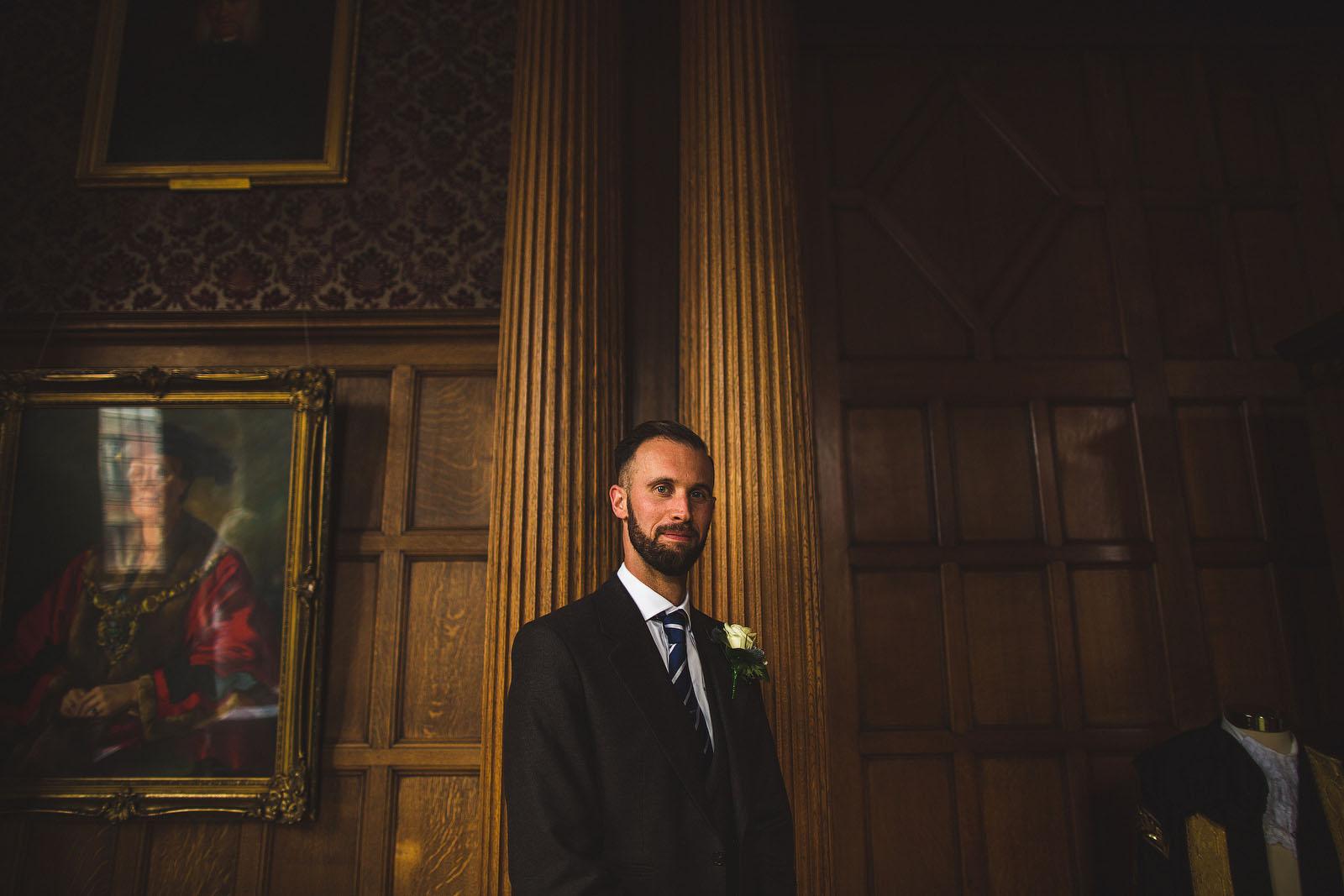 Town Hall wedding Sheffield1