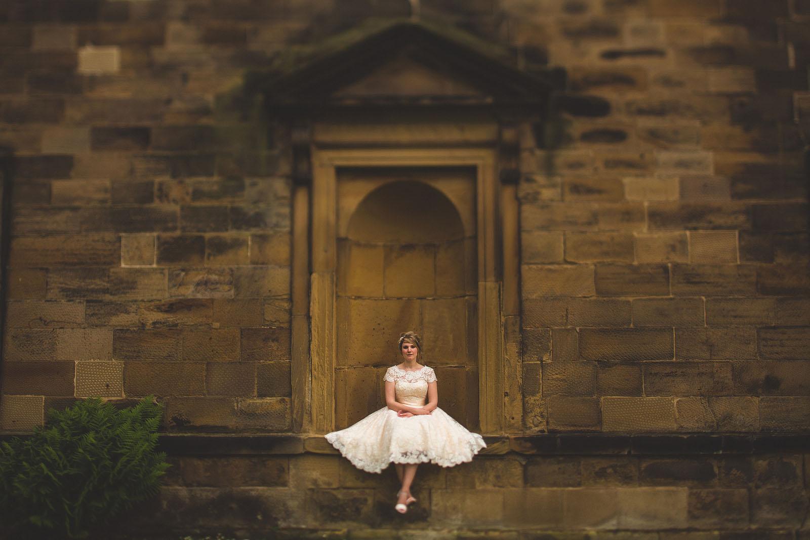 Vintage wedding dress Leeds1
