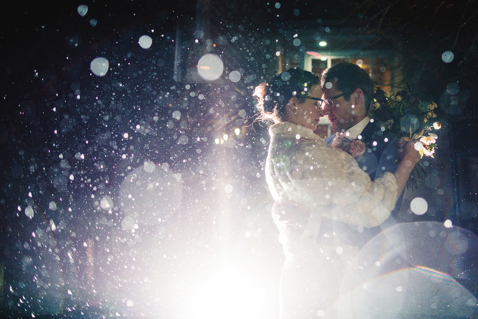 amazing rain wedding photos1