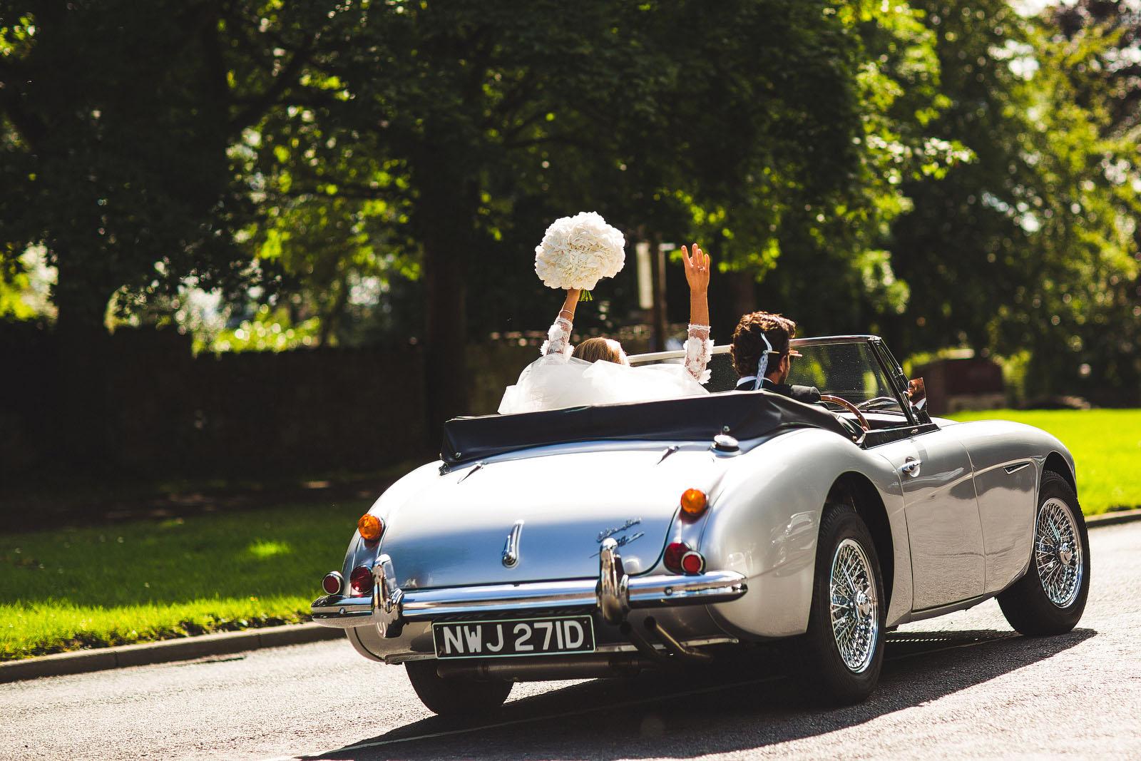 amazing wedding car1