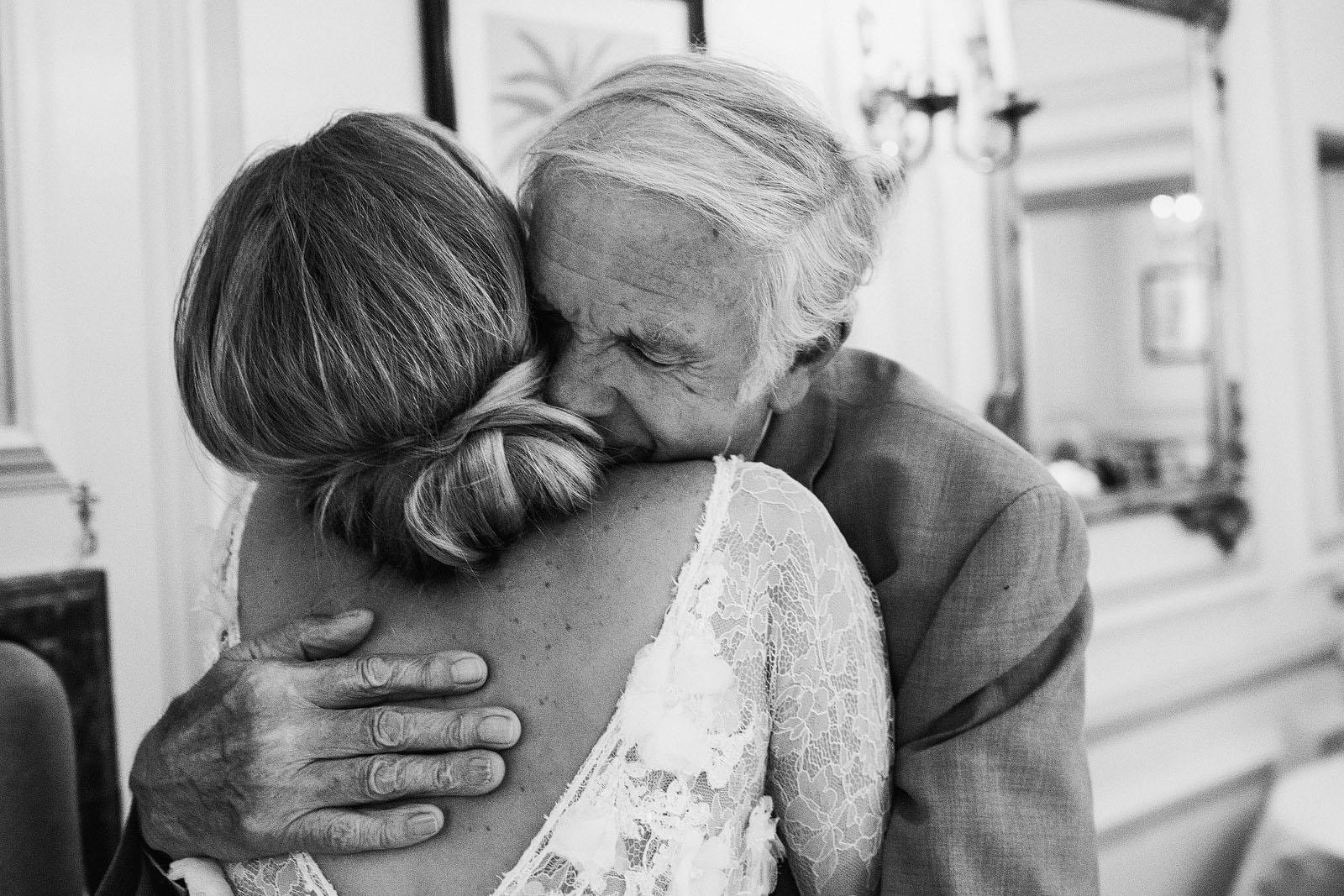 grandad hug bride1