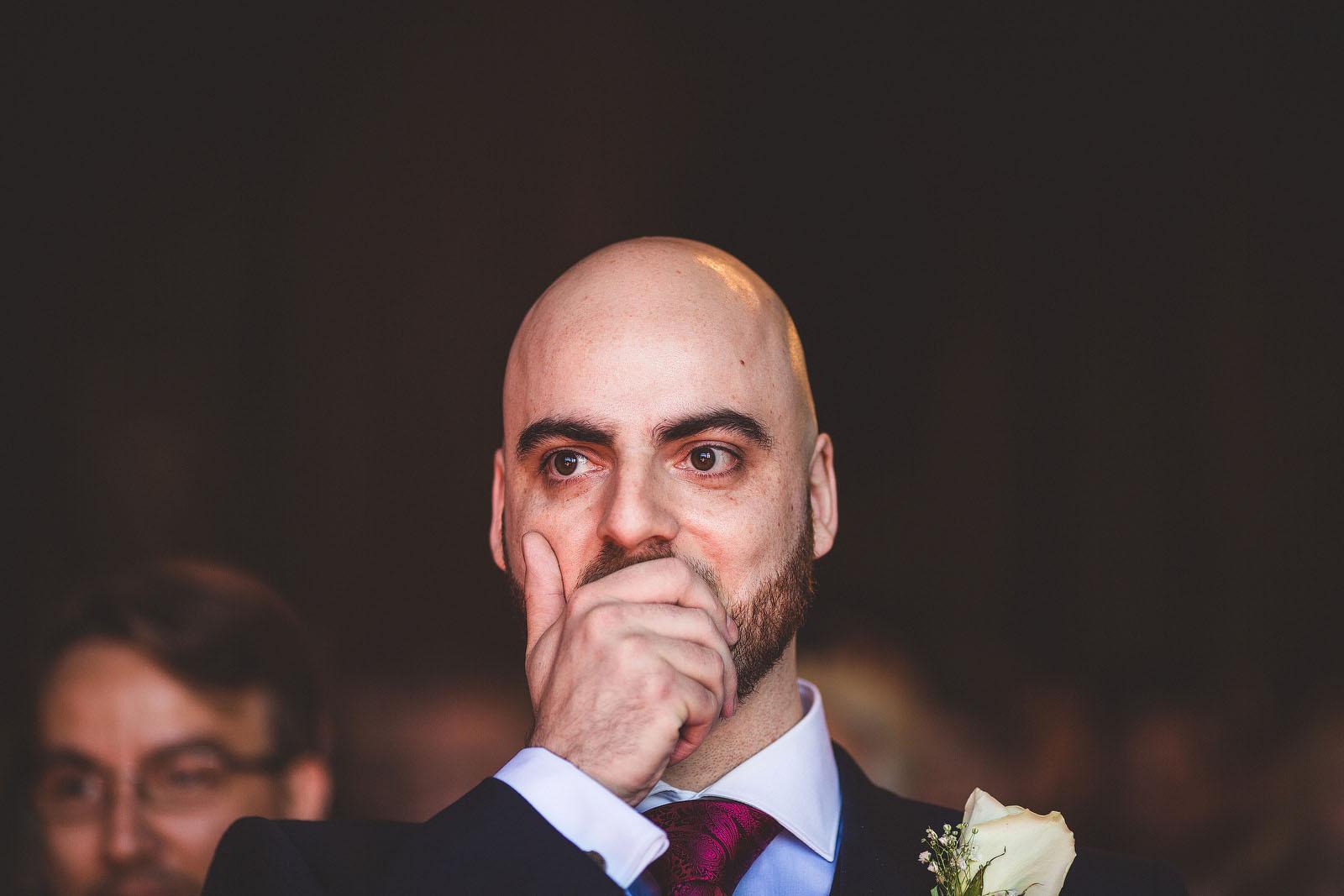 groom sees bride1