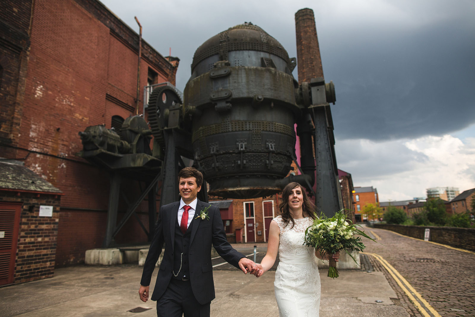 wedding at Kelham Island Museum1