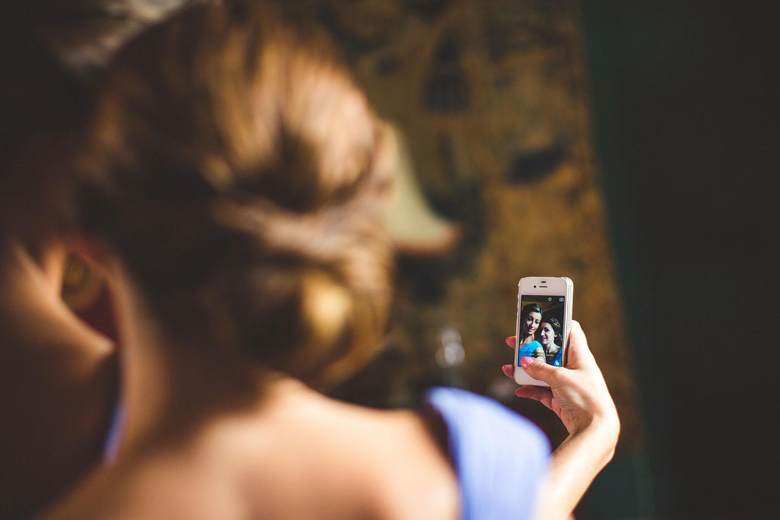 wedding selfie1