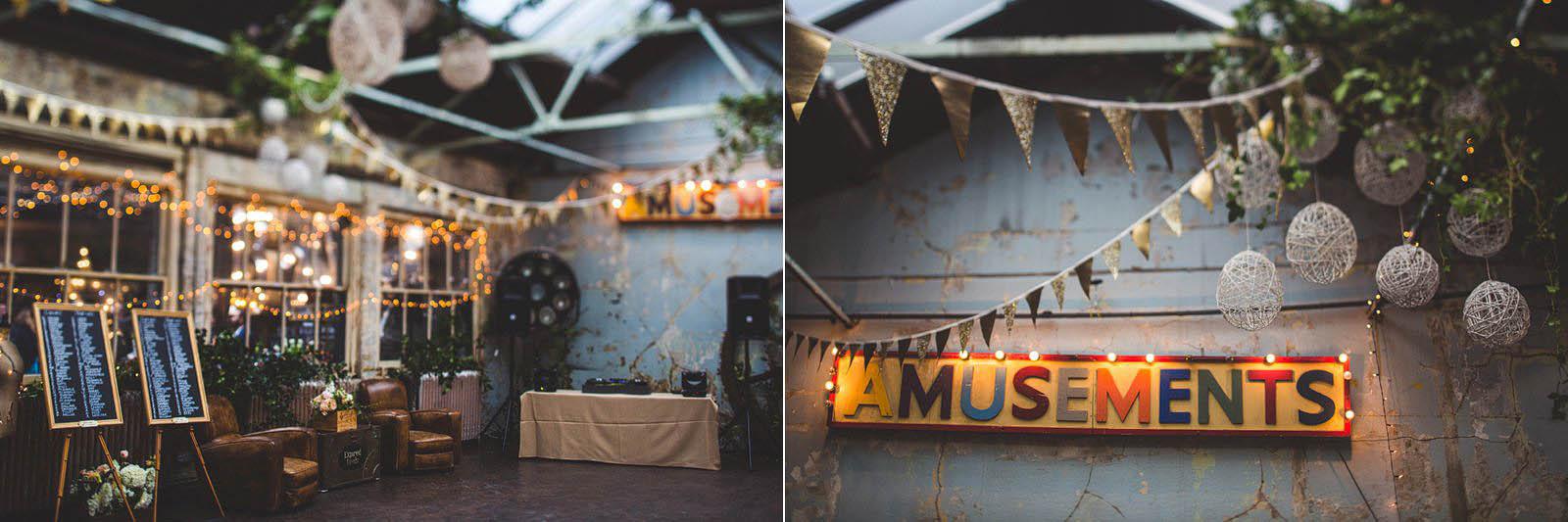 industrial London wedding venue
