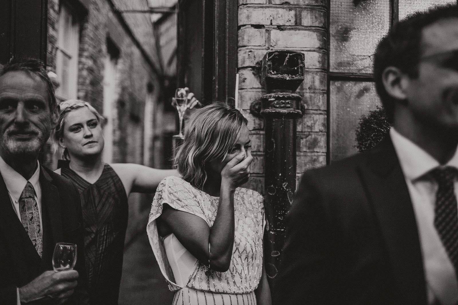 Documentary London wedding photographer