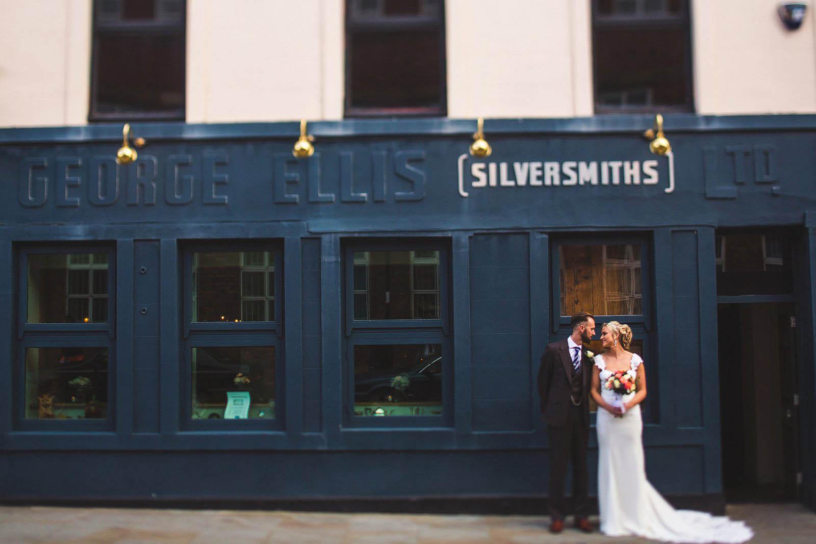 Silversmiths wedding