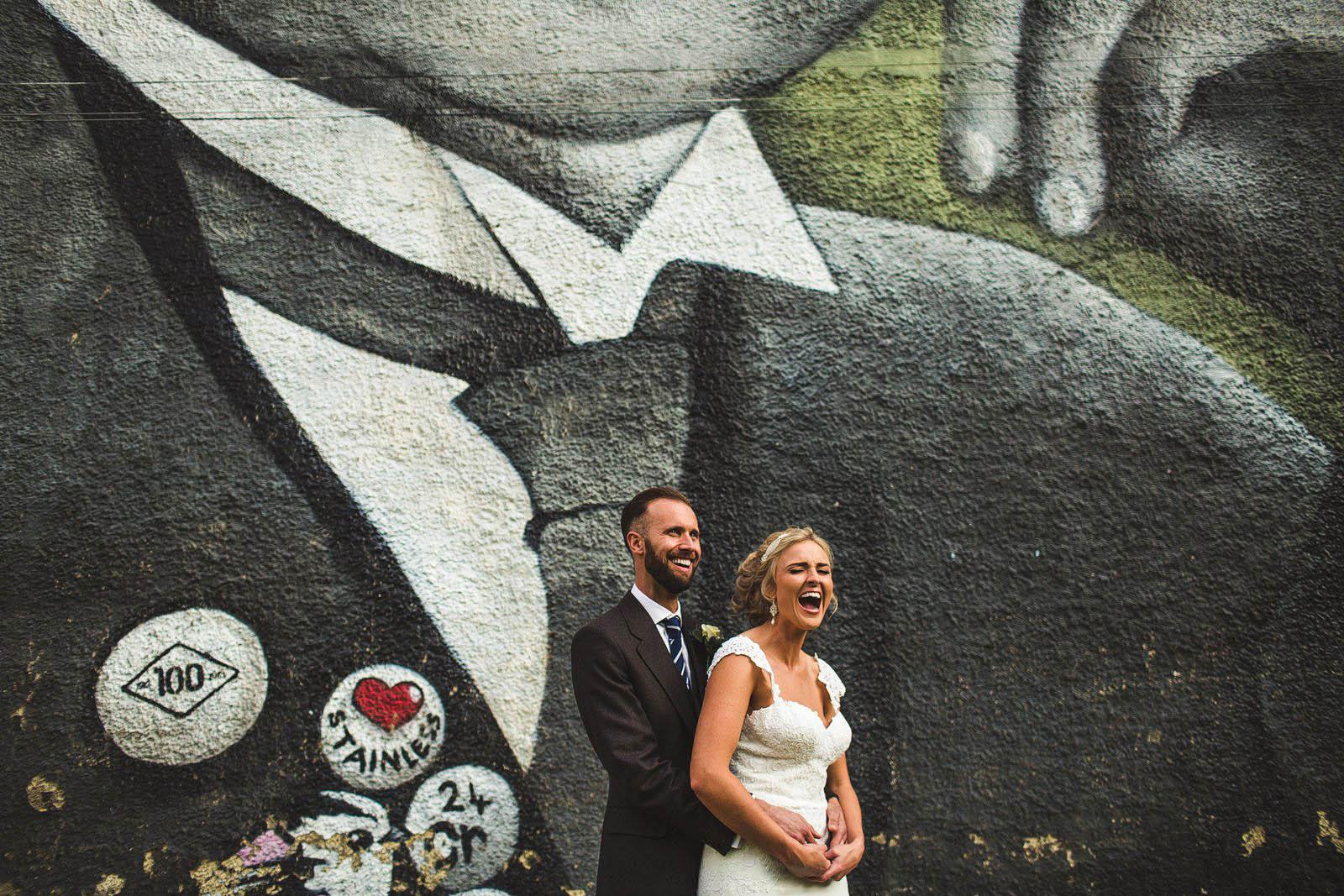 wedding in centre of Sheffield